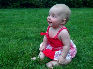 Marin in the grass